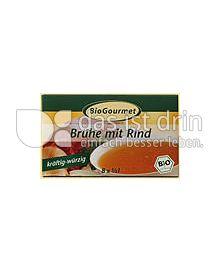 Produktabbildung: BioGourmet Brühe mit Rind Würfel 8 St.