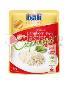 Produktabbildung: bali Express Langkorn Reis parboiled 250 g