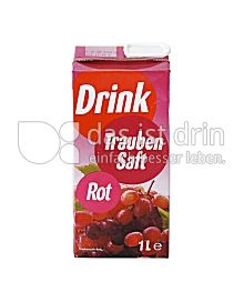 Produktabbildung: Drink roter Traubensaft 1000 ml