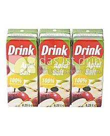 Produktabbildung: Drink Apfelsaft 600 ml