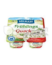 Produktabbildung: MILRAM FrühlingsQuark 4x62,5g 250 g