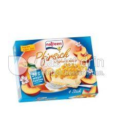 Produktabbildung: natreen Joghurtschnitte Pfirsich 400 g
