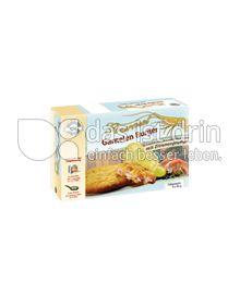 """Produktabbildung: Ristic Gourmet Garnelen Burger """"Zitrone - Pfeffer"""" 80 g"""
