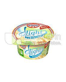 Produktabbildung: Dr. Oetker Light Pudding Vanille 150 g