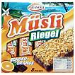 Produktabbildung: Granola Müsli Riegel Schoko-Orange  200 g