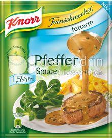 Produktabbildung: Knorr Feinschmecker Pfeffer Sauce fettarm