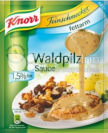 Produktabbildung: Knorr Feinschmecker Waldpilz Sauce fettarm 250 ml