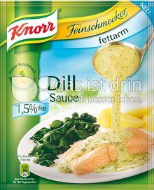 Produktabbildung: Knorr Feinschmecker Dill Sauce fettarm 250 ml
