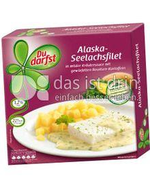 Produktabbildung: Du darfst Alaska-Seelachsfilet 400 g