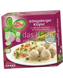 Produktabbildung: Du darfst Königsberger Klopse 400 g