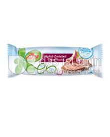Produktabbildung: Du darfst Apfel-Zwiebel Leberwurst 125 g