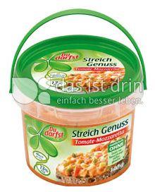 Produktabbildung: Du darfst Streichgenuss Tomate Mozzarella 125 g