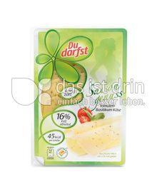 Produktabbildung: du darfst Tomaten-Basilikum Käse
