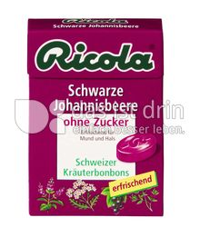 Produktabbildung: Ricola Schwarze Johannisbeere 50 g