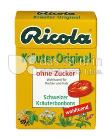 ricola kr uter original ohne zucker 240 0 kalorien kcal und inhaltsstoffe das ist drin. Black Bedroom Furniture Sets. Home Design Ideas