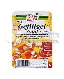 Produktabbildung: Du darfst Geflügelsalat 200 g