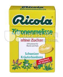 Produktabbildung: Ricola Zitronenmelisse ohne Zucker 50 g