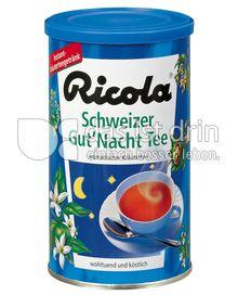 Produktabbildung: Ricola Schweizer Gut´Nacht Tee 200 g
