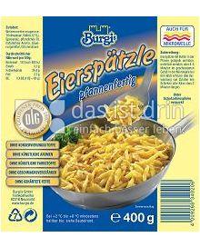 Produktabbildung: Burgi's Eierspätzle 400 g