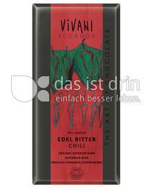 Produktabbildung: VIVANI Edel Bitter Chili 100 g