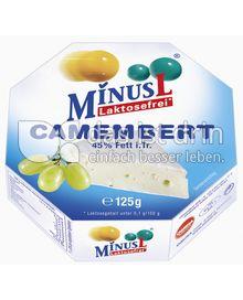Produktabbildung: MinusL Laktosefreier Camembert 125 g