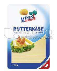 Produktabbildung: MinusL Laktosefreier Butterkäse in Scheiben 150 g