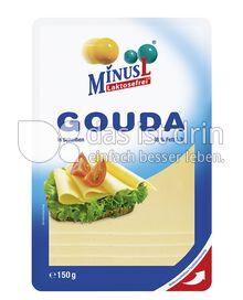 Produktabbildung: MinusL Laktosefreier Gouda in Scheiben 150 g