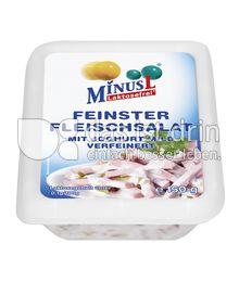 Produktabbildung: MinusL Laktosefreier Feinster Fleischsalat mit Joghurt mild verfeinert 150 g