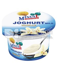 Produktabbildung: MinusL Laktosefreier Joghurt mild Vanille 150 g