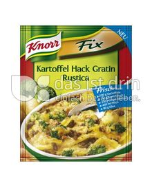 Produktabbildung: Knorr Fix Kartoffel Hack Gratin Rustica 40 g