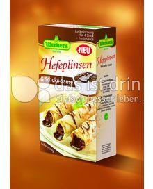Produktabbildung: Werner's Hefeplinsen mit Schoko-Sauce 4 Stück