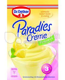 Produktabbildung: Dr. Oetker Paradies Creme Zitronen-Geschmack