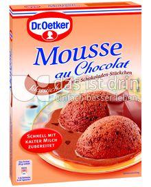 Produktabbildung: Dr. Oetker Mousse au Chocolat