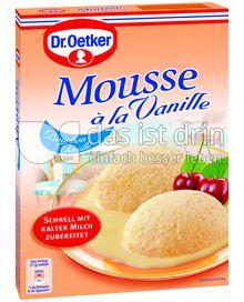 Produktabbildung: Dr. Oetker Mousse à la Vanille