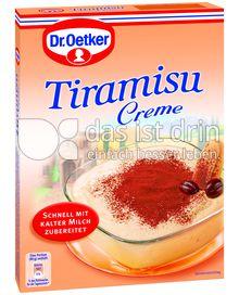 Produktabbildung: Dr. Oetker Crème Tiramisu