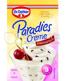 Produktabbildung: Dr. Oetker Paradies Creme Stracciatella 66 g