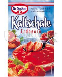 Produktabbildung: Dr. Oetker Kaltschale Erdbeer