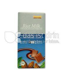 Produktabbildung: Bonvita Reismilch Schokolade Couverture 100 g