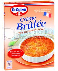 Produktabbildung: Dr. Oetker Crème Brûlée