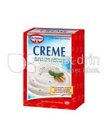 Produktabbildung: Dr. Oetker Creme