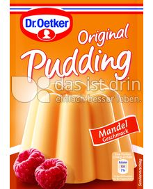 Produktabbildung: Dr. Oetker Original Pudding Mandel-Geschmack 111 g