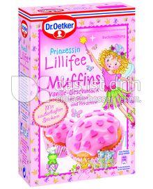 Produktabbildung: Dr. Oetker Prinzessin Lillifee Muffins Vanille-Geschmack 397 g