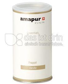 Produktabbildung: amapur Vanille Frappé 250 g