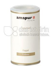 Produktabbildung: amapur Erdbeer Frappé 250 g