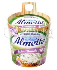 Produktabbildung: Almette Alpenfrischkäse Schnittlauch 16% 150 g