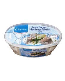 Produktabbildung: Linessa Joghurt Heringsfilets mit Gartenkräutern 400 g