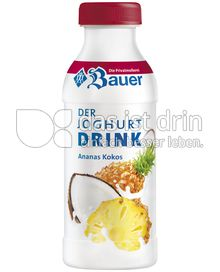 bauer joghurtdrink ananas kokos 98 0 kalorien kcal und inhaltsstoffe das ist drin. Black Bedroom Furniture Sets. Home Design Ideas