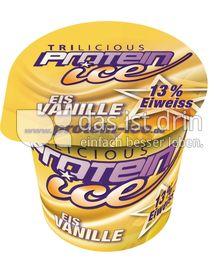 Produktabbildung: Trilicious Protein Ice Eis Vanille Eis 150 ml
