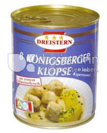 Produktabbildung: Dreistern 8 Königsberger Klopse 800 g