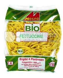 Produktabbildung: MOSNA  Die feine frische Pasta BIO FETTUCCINE kbA 500 g